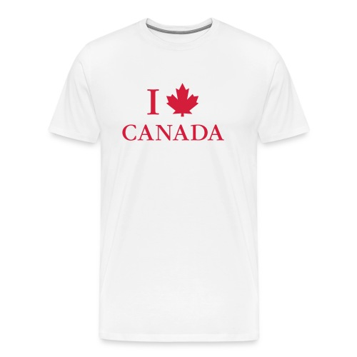 Kanada Ahorn Vancouver Montreal Toronto Maple Leaf - Men's Premium T-Shirt