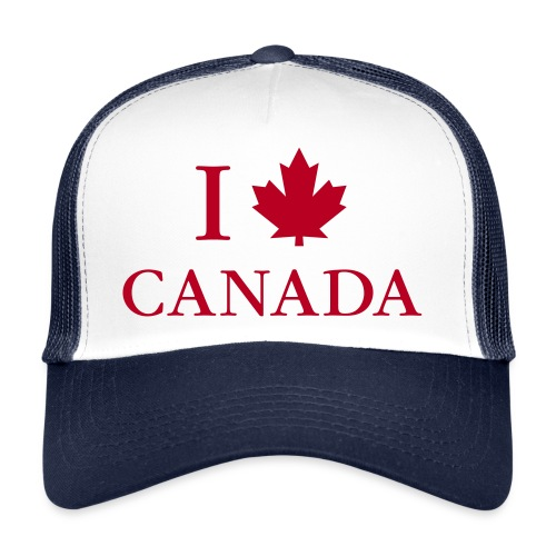Kanada Ahorn Vancouver Montreal Toronto Maple Leaf - Trucker Cap
