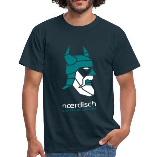 Männer T-Shirt Noerdisch Viking Abstract FRONT dark - Männer T-Shirt