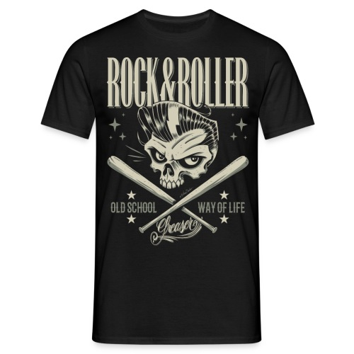 Rock&roller - Camiseta hombre