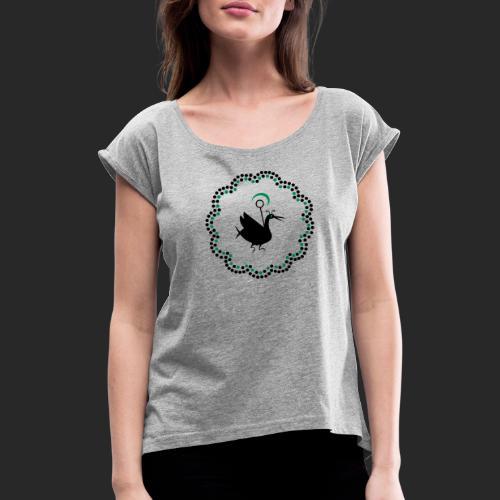Drôle d'oiseau - Femme - T-shirt à manches retroussées Femme