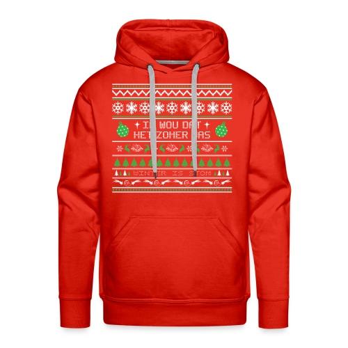 Heren premium hoodie - Mannen Premium hoodie