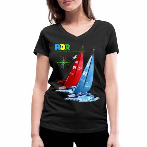 Tshirt Femme Route du Rhum  - T-shirt bio col V Stanley & Stella Femme