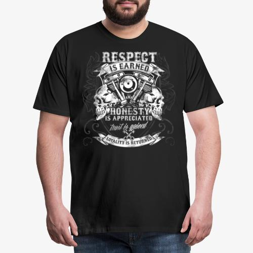The Men's Code of Loyalty - Männer Premium T-Shirt