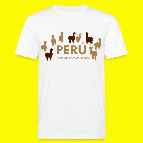 Peru - Männer Bio-T-Shirt