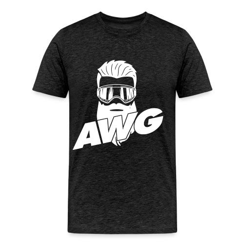 AWG Ski Shirt - Männer Premium T-Shirt