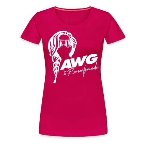 AWG Busenfreunde Ski Shirt - Frauen Premium T-Shirt