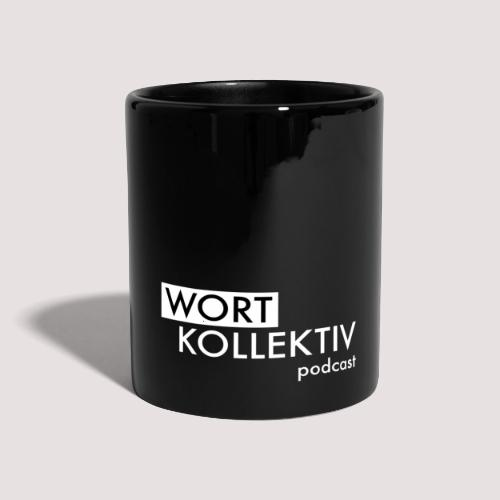 Wortkollektiv Tasse - Tasse einfarbig