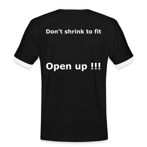 Don't Shrink 2 fit - T-shirt contrasté Homme