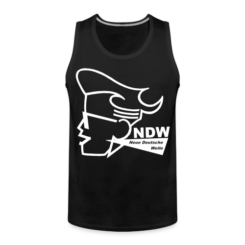 Muscle Shirt : Neue Deutsche Welle - Männer Premium Tank Top