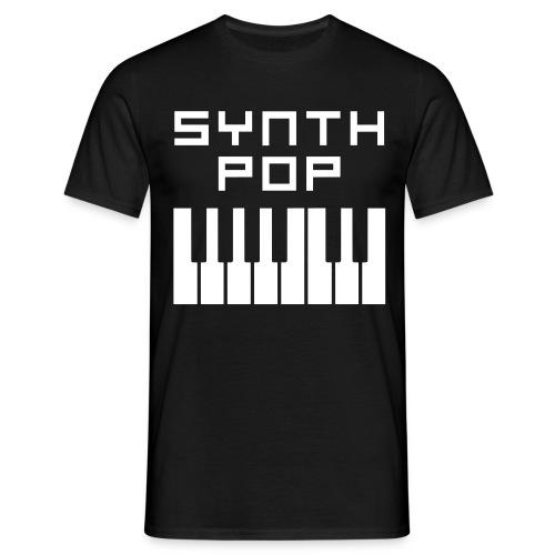 T-Shirt : Synth Pop - Männer T-Shirt