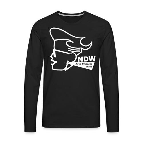 Longsleeve Shirt : Neue Deutsche Welle - Männer Premium Langarmshirt
