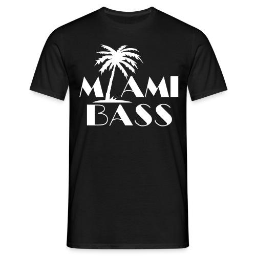 T-Shirt : Miami Bass - Männer T-Shirt