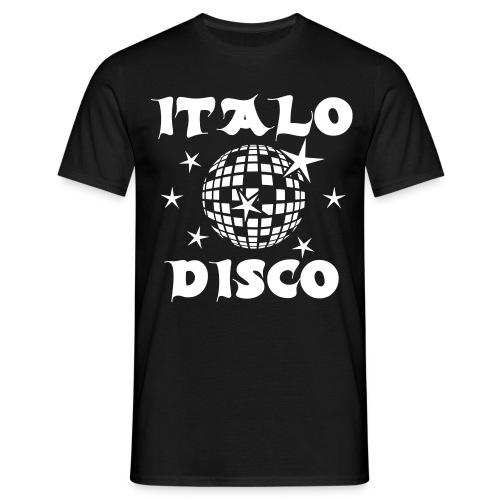 T-Shirt : Italo Disco - Männer T-Shirt