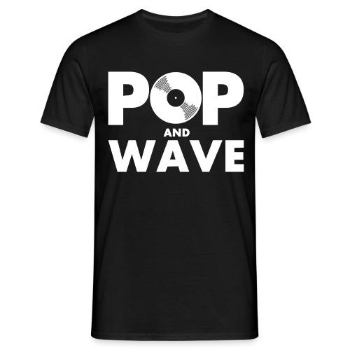 T-Shirt : Pop & Wave - Männer T-Shirt