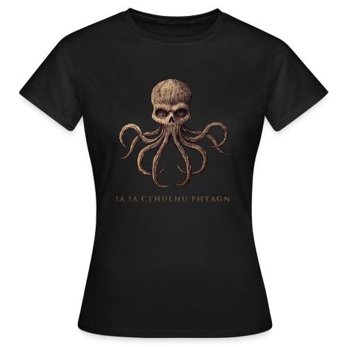 CTHULHU Skull - T-shirt Femme