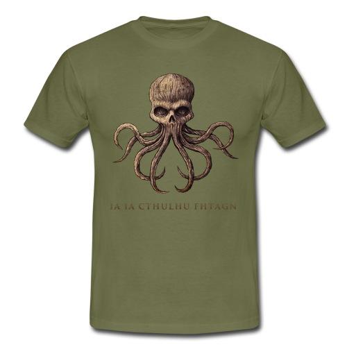 CTHULHU Skull - T-shirt Homme