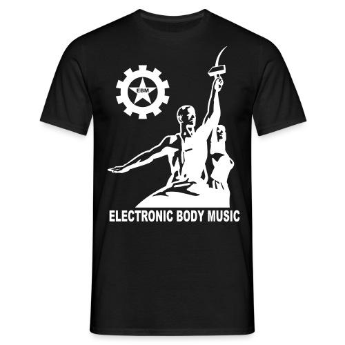 T-Shirt : Electronic Body Music - Männer T-Shirt