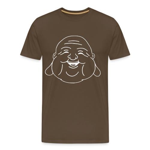 Buddha outline - Männer Premium T-Shirt