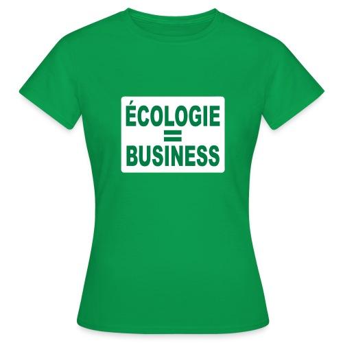 Ecologie - T-shirt Femme