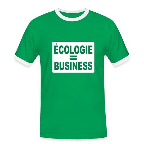 Ecologie - T-shirt contrasté Homme