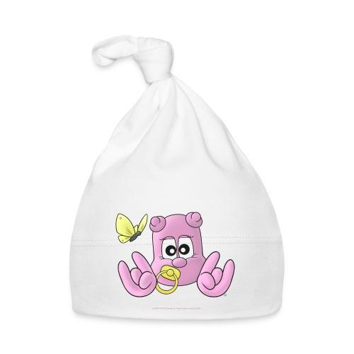 NINPO BABY Kleinkindermütze für freche Kunoichi in weiß - Baby Mütze