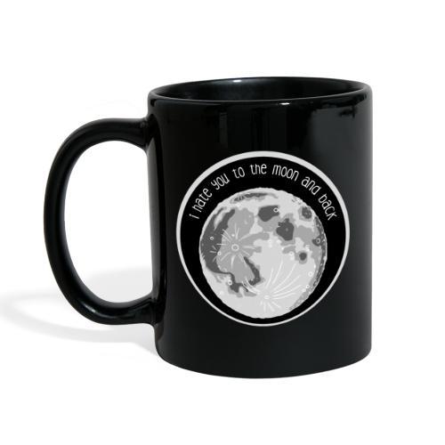 Tasse – Hate You Moon - Tasse einfarbig