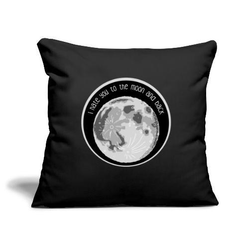 Sofakissenbezug – Hate You Moon - Sofakissenbezug 44 x 44 cm