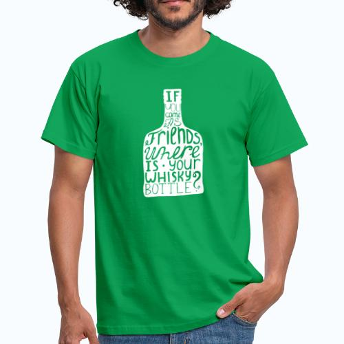 Whiskey - Mannen T-shirt