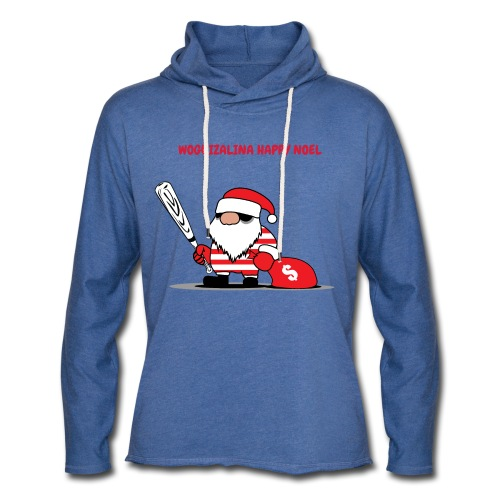 HAPPY NOEL 2018 WOGUI - Sweat-shirt à capuche léger unisexe