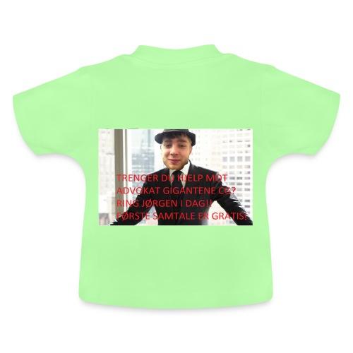 Baby-T-skjorte