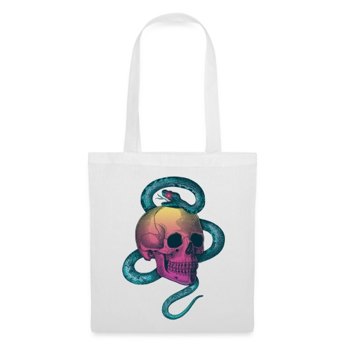 Skull&Snake (rainbow version) - Tote Bag