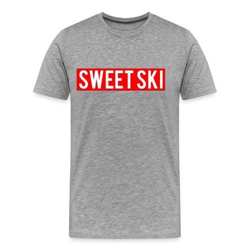 Sweet Ski Shirt mit Hype Balken - Männer Premium T-Shirt