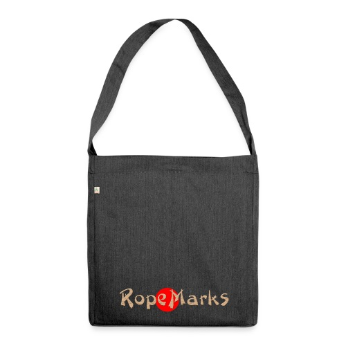 Shoulderbag of recycled material  by RopeMarks - Shoulder Bag made from recycled material