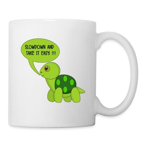 SlowDown Motiv - Tasse - Mug
