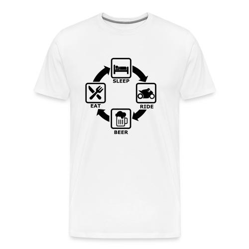 ride cycle - Männer Premium T-Shirt