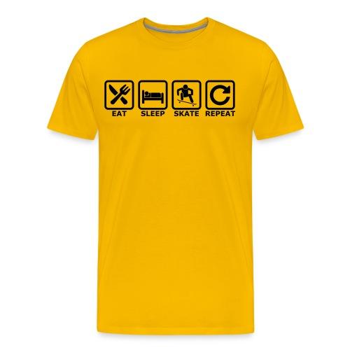 skate - Männer Premium T-Shirt