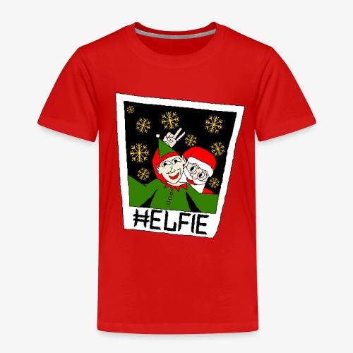 Kinder Premium T-Shirt Weihnachtsmann Foto Ugly Xmas - Kinder Premium T-Shirt