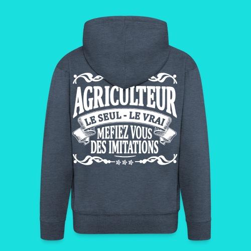 agriculteur - Veste à capuche Premium Homme