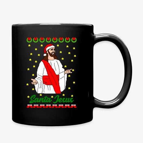 Tasse Santa Jesus Ugly Xmas - Tasse einfarbig