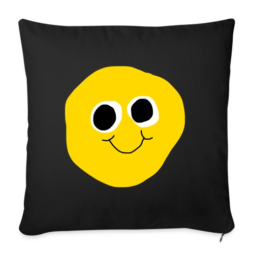 SQUIZZY SMILE PILLOW - Sofakissenbezug 44 x 44 cm