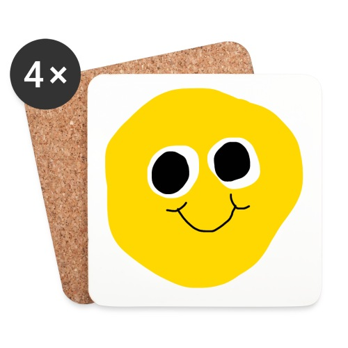 SQUIZZY SMILE COASTER SET - Untersetzer (4er-Set)