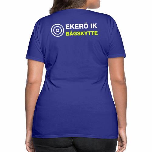 SKJUTTRÖJA INSVÄNGD MODELL VUXEN - Premium-T-shirt dam