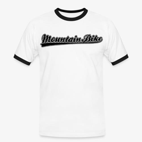 Mountainbike Retro Classic, MTB - Männer Kontrast-T-Shirt