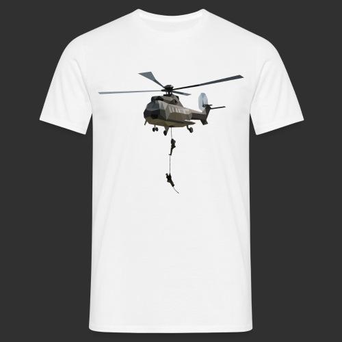 SF Shirt Fast Rope, White - Männer T-Shirt