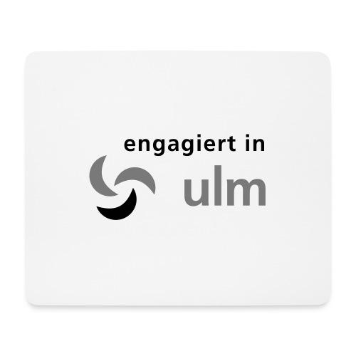 engagiert in Ulm - Mousepad (Querformat)