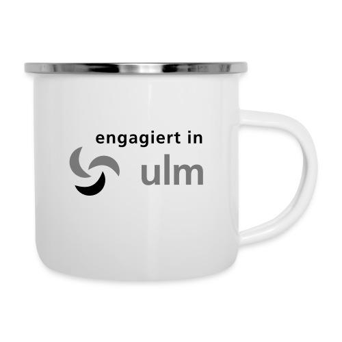 engagiert in Ulm - Emaille-Tasse