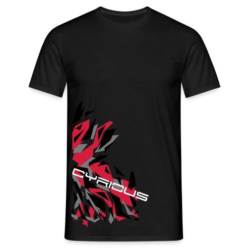 Cyrious Camo Red - Men's T-Shirt