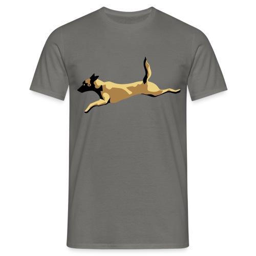 tee shirt dog malinois - T-shirt Homme