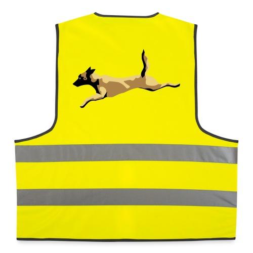 gilet de sécurité dog malinois - Gilet de sécurité